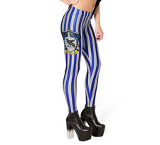 New Harry Potter Ravenclaw Leggings - 8 10 12 - Costume Hogwarts Colours School