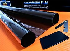 "DARK BLACK 15% CAR WINDOW TINT ROLL 3M x 75CM ( 9'10""x2'6 ) FILM TINTING"