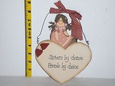 Sisters By Chance Friends by Choice Great Birthday Gift Ideas for Her