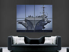 US NAVY SHIP AIRCRAFT CARRIER WAR GIANT WALL POSTER ART PICTURE PRINT LARGE HUGE