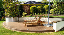 Composite Decking Clarity Autumn 10 Square Metre Pack (incl. fixings and screws)