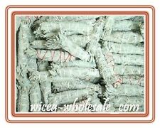 "LOT of 6 white Sage Smudge 4"" to 5"" Stick House Cleansing Negativity Removal"