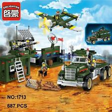 Enlighten Military Army Mobile Combat Vehicle Building Block Toy lego Compatible