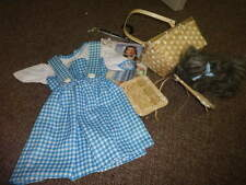 RUBIES THE WIZARD OF OZ DOROTHY COSTUME W TOTO BASKET TODDLER 2T