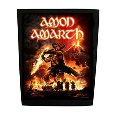 AMON AMARTH Backpatch 'Surtur Rising' Rückenaufnäher ♫ Viking Death Metal ♫