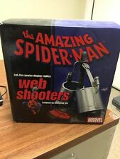 Amazing Spider-Man Web Shooters Rare Pewter Display Replica Prop Marvel Universe
