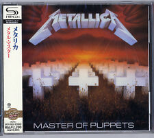 METALLICA-MASTER OF PUPPETS-JAPAN SHM-CD E50