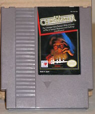 The Chessmaster NES CLEANED & TESTED Nintendo Entertainment System Video Game