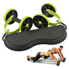 New Core Double Wheels   Roller Pull Waist Slimming Abdominal Exercise Equipment