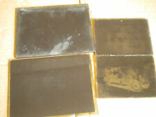 collection of vintage glass plate Negatives French cars 1920s to 1940s