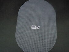 "2 Sheets of  Oval 7 Count Plastic Canvas  size 12"" x 18"""