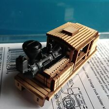 ULRICH N SCALE LASER CUT CLIMAX LOGGING STEAM LOCOMOTIVE BALOON STACK BODY ONLY