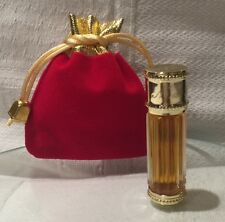 100% Authe. VINTAGE Dior Miss Dior PARFUM PERFUME IN RED VELVET GOLD POUCH 4ml