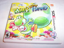 Yoshi's New Island (Nintendo 3DS) XL 2DS Game w/Case & Insert