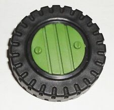 G I JOE PART 1987  Marauder       Rear Wheel with Hub Cap