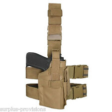 Condor TLH Tactical Leg Holster Tan - Adjustable for M to L pistol