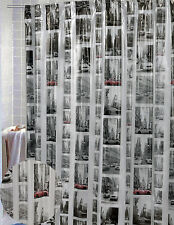 NEW YORK vinyl Shower Curtain Iconic scenes from the city