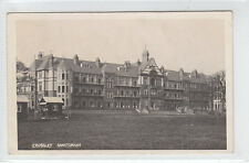 Crossley Sanatorium Kingswood Frodsham Real Photograph 4 Aug 1908 Mace Davenport