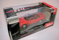 Mercedes A 208 CLK 230 Cabriolet convertible rot rouge red, Schuco 1:43 BOXED!