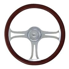 "18"" 3 Spoke Saber Steering Wheel 3-Hole for Freightliner, Peterbilt,KW + more!"