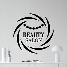 Beauty Salon Wall Decal Spa Make Up Fashion Vinyl Sticker Decor Mural 46bar