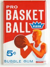 Basketball Trading Cards FRIDGE MAGNET (2 x 3 inches) wax pack
