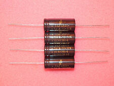 2 x F&T Germany 33uF 450V Axial Electrolytic Caps Capacitors Tube Amplifier