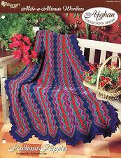 Radiant Ripples Afghan, Mile-A-Minute Wonders crochet pattern