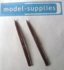 Triang Spot On 184 Austin A60 reproduction brown plastic pair of skis