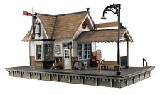 Woodland Scenics BR5052, HO Scale, Built & Ready w/ LED Lighting, The Depot