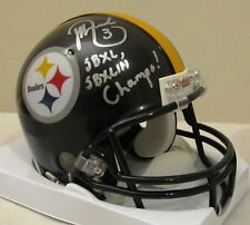 Jeff Reed Pittsburgh Steelers Mini SB XL & XLIII Champs Inscription