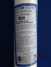 """HYDRO CURE DELUXE 5 MICRON 20""""x2.5"""" SEDIMENT FILTER - 6 FILTERS"""