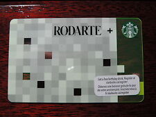 STARBUCKS RODARTE GREEN CARD CANADIAN VERSION CANADA NEW AND UNUSED