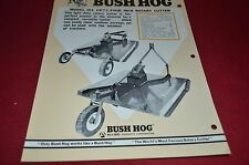 Bush Hog 104 Rotary Cutter Dealer's Brochure YABE10