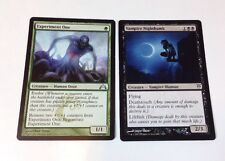MTG Magic the Gathering Experiment One & Vampire Nighthawk Cards, Creature