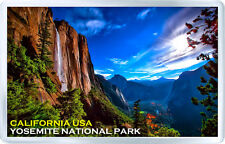 YOSEMITE NATIONAL PARK CALIFORNIA USA MOD 1 FRIDGE MAGNET SOUIVENIR IMAN NEVERA