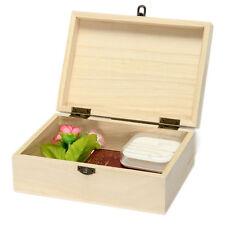 good Handmade Postcard Storage Jewelry Organizer Wooden Box Craft Case Holder