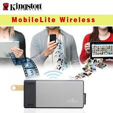 Kingston SD USB Wireless Card Reader Media Stream for iPhone 6s 6s Plus Ipad Pro