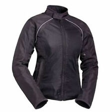 NEW BiLT Women Calypso Mesh Vented Motorcycle Jacket Black Armor (MSRP $149.99)