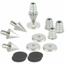 Dayton Audio DSS2-SN Satin Nickel Spike Set 4 Pcs.