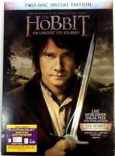 The Hobbit: An Unexpected Journey,  2-DISC Special Edition (DVD, 2012) Used