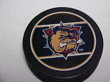 AHL Defunct Hamilton Bulldogs InGlasco Sher-Wood Collector Souvenir Hockey Puck