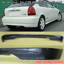 CTR Style Rear Lip (Urethane) Fits 96-00 Honda Civic 3dr