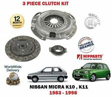 FOR NISSAM MICRA 1.0 1.2 K10 K11 1983-1998 NEW CLUTCH PLATE COVER BEARING KIT