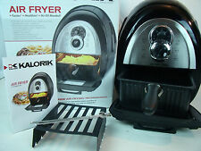Kalorik Electric No Oil Airfryer Deep Frying Healthy Cooking Baking FT37999SS