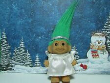 "CHRISTMAS ANGEL - 3"" Russ Troll Doll - NEW IN ORIGINAL WRAPPER"