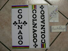 kit STICKER adesivi per Colnago master e mexico 4 pezzi new