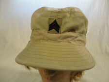 Mens Military Issue Class 2 Camouflage Pattern Desert Cap (6 7/8) Ear Flaps