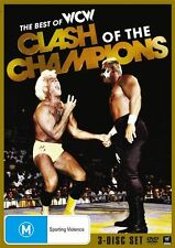 The Best of WCW Clash Of The Champions DVD *3 Disc Set *WWE