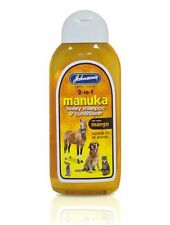 Johnsons Pet Manuka Honey Shampoo 200ml For Dogs, Cats, Horses, Small Pets